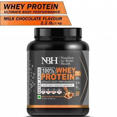 100% Whey Protein Powder Milk Chocolate Flavor