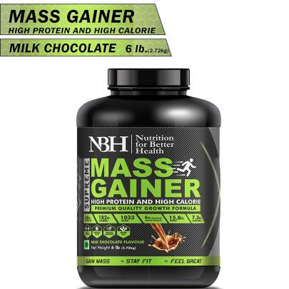 Supreme Mass Gainer (High Protein And High Calories) Milk Chocolate Flavor
