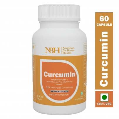 ORGANIC CURCUMIN,95% CURCUMINOIDS (with Piperine)